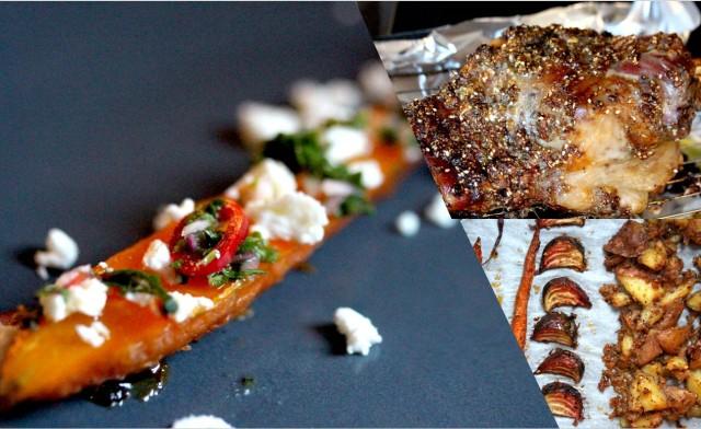 Roast Lamb & Roast Vegetables