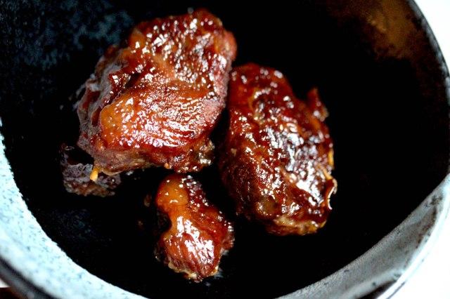 braised pork cheeks