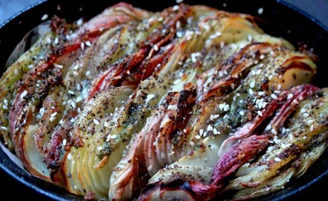 Potato & Beetroot bake