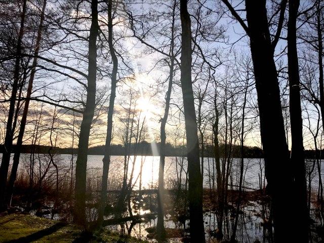 Lake at Naas Frabriker Sweden