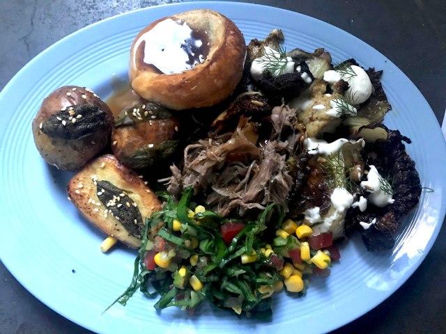 Roast lamb dish