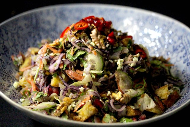 Beef Walnut Salad