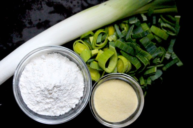 Leek pasta ingredients