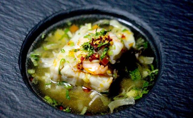 Rice & Seafood soup