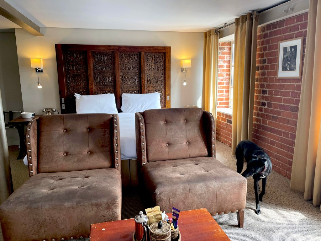 Salthouse Hotel room